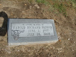 Harold Richard Patrick