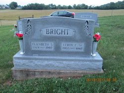 "Elizabeth Sarah ""Sarah"" <I>Edwards</I> Bright"