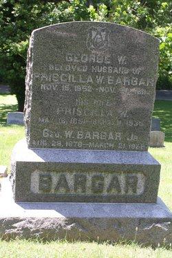 Priscilla Wood Hatch Bargar (1851-1935) - Find A Grave Memorial