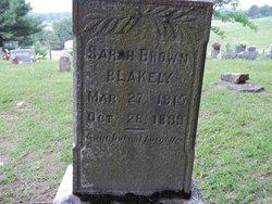 Sarah <I>Brown</I> Blakely