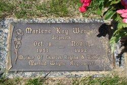 Marlene Kay <I>Seljeseth</I> Wengel