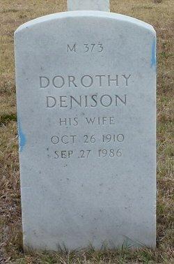 Dorothy <I>Denison</I> Barr
