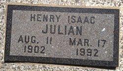 """Henry Isaac """"Hank"""" Julian"""