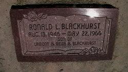 Ronald Blackhurst