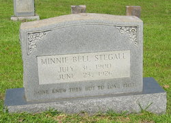Minnie Belle Stegall