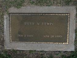 "Margaret Virginia R Lillian ""Lilly"" <I>Hopper</I> Lewis"