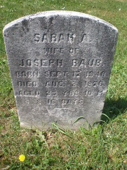 Sarah A <I>Paff</I> Raub