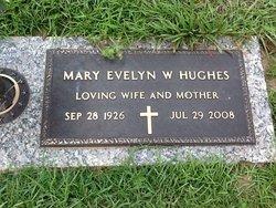 Mary Evelyn <I>Wilson</I> Hughes