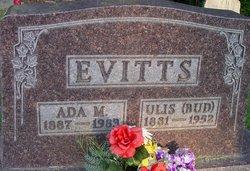 "Ulis Winfield ""Bud"" Evitts"