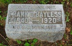 CPL Frank Davis Bayless