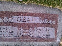 Erwin L Gear