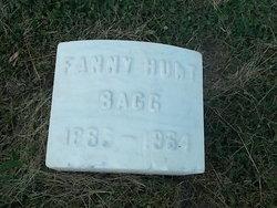 Fanny <I>Hunt</I> Bagg