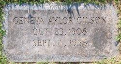 Geneva D <I>Aylor</I> Gilson
