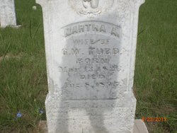 Martha Ann <I>Reed</I> Tubb