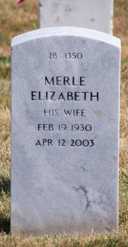 Merle Elizabeth <I>Stone</I> Brunicardi