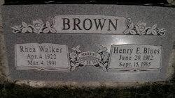 """Henry Elijah """"Blues"""" Brown"""