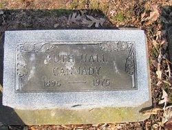 Ruth <I>Hall</I> Cannady