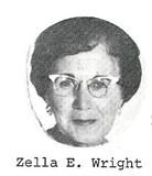 Zella Charlotte <I>East</I> Wright