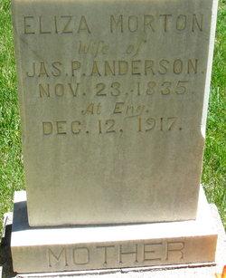 Eliza <I>Morton</I> Anderson