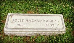 "Josephine Taylor ""Josie"" <I>Hazard</I> Burritt"