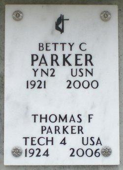 Betty Chloris <I>Callaway</I> Parker