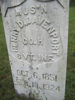 Henry D. Davenport