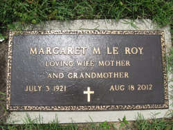 Margaret M <I>Solensky</I> LeRoy
