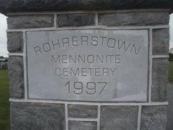 Rohrerstown Mennonite Cemetery (Old)