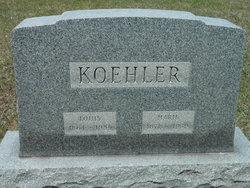 "Mary Anna ""Marie"" <I>Franke</I> Koehler"