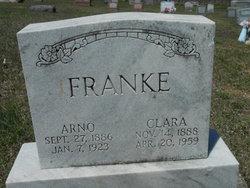 Clara Elizabeth <I>Gauger</I> Franke