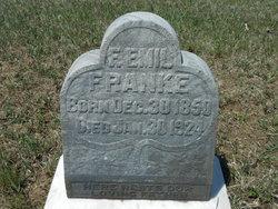 "Franz Emil ""Emil"" Franke"