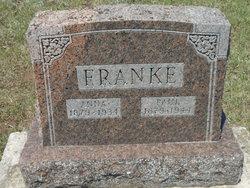 Anna Frieda <I>Fischer</I> Franke