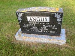 Maude Jeanette <I>McMillan</I> Angus