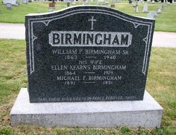 William F Birmingham, Sr