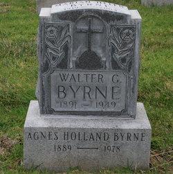 Agnes <I>Holland</I> Byrne