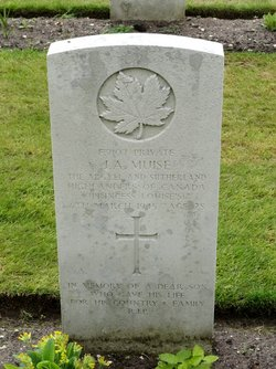 Private Joseph Arthur Muise