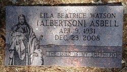 Lila Beatrice <I>Watson</I> Asbell
