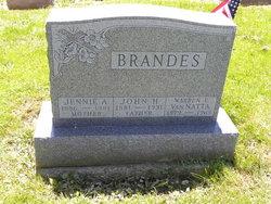 Jennie America <I>Van Natta</I> Brandes