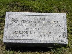 Virginia R. <I>Hazelton</I> Brucker