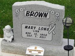 "Mary Louise ""Lisa"" <I>Long</I> Brown"