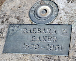 Barbara E Baker