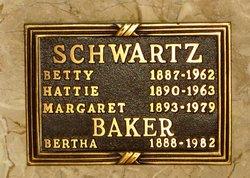 Bertha S <I>Schwartz</I> Baker