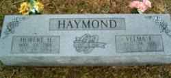 Velma Floe <I>Adams</I> Haymond