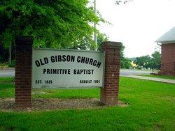 Old Gibson Primitive Baptist Church Cemetery