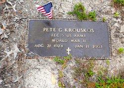 Pete G Krouskos