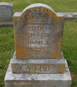 Edith E <I>Dummitt</I> Webb