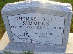 """Thomas Obie """"Bill"""" Simmons"""