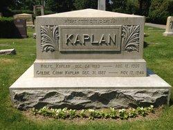 Goldie <I>Cohn</I> Kaplan