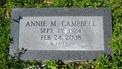 Annie M Campbell