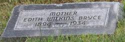 Edith <I>Wilkins</I> Bryce